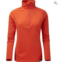 North Ridge Womens Coordinate Fleece - Size: 14 - Colour: ORANGE.COM