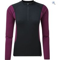 Zucci Comp Half-Zip Long Sleeve Jersey Womens - Size: 18 - Colour: PURPLE-STRETCH