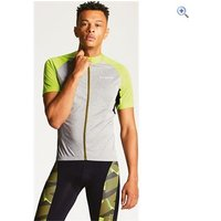 Dare2b Mens Sequal Jersey - Size: M - Colour: Grey / Lime