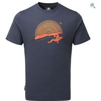 Mountain Equipment Mens Horizon Tee - Size: XL - Colour: OMBRE BLUE