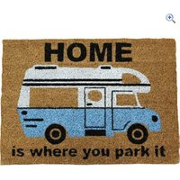 Quest Heavy Duty Coir Home is where you park it Mat