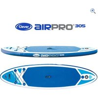 Clever Airpro 305 Inflatable Stand Up Paddleboard - Colour: Blue