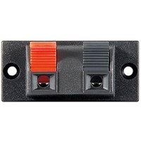 Lautsprecher-Klemmanschluss, 2-polig, Abmessungen: 54 x 24 mm