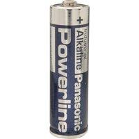 Panasonic Powerline Alkaline Batterie Mignon AA, 1er Pack