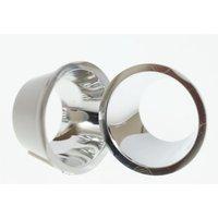 Optik für P4-LED, Abstrahlwinkel 80,9°, Durchmesser 20 mm