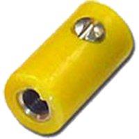 HO-Kupplung 2,6 mm, gelb