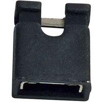 Jumper 6,0 mm, schwarz, RM 2,54