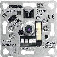 Peha 434 UP-Phasenanschnitt-Drehdimmer 60-400 W