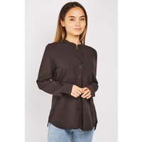 'Mandarin Collar Blouse