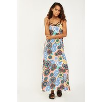 Abseque Print Maxi Dress