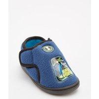 Blue Boys Ben 10 Slippers