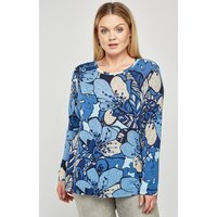 All Over Vintage Print Top