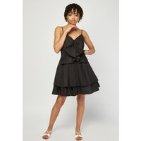 Large Bow Front Tiered Dress