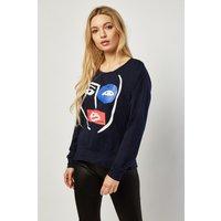 Abstract Art Print Sweatshirt