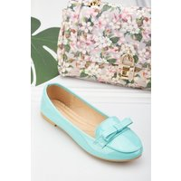 Bow Front Pvc Loafers