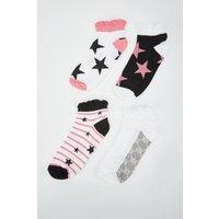 12 Pairs Of Printed Socks