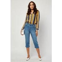 All Around Slimming Effect Capri Jeans