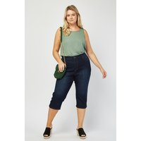 All Around Slimming Effect Crop Length Jeans