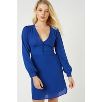 Bishop Sleeve Chiffon Tunic Dress