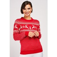 Reindeer FairIsle Knit Jumper
