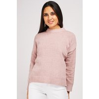 Ribbed Edging Chunky Jumper