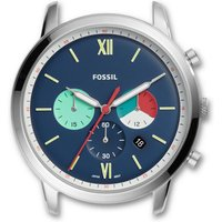 Fossil Women Neutra Chronograph Stainless Steel Watch Case White - One size