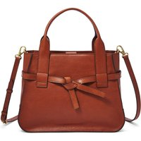 Fossil Unisex Willow Satchel Beige - One size