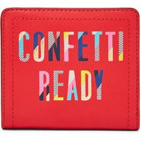 Fossil Women Logan Small Rfid Bifold Red - One size