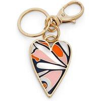 Heart Keyfob White