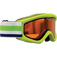 Bekleidung/Brillen: Alpina  Carat DH Doubleflex Hicon Skibrille LimeOrange