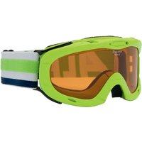 Bekleidung/Brillen: Alpina  Ruby S SH Singleflex Hicon Kinder-Skibrille Lime