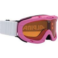 Bekleidung/Brillen: Alpina  Ruby S Kinder Skibrille (Rose)
