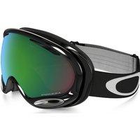 Bekleidung/Brillen: Oakley  A Frame 2 0 Snowboardbrille Jet Black Prizm Jade Iridium