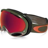 Bekleidung/Brillen: Oakley  A Frame 2 0 Snowboardbrille OO7044-42 Wet Dry Olive Prizm Torch