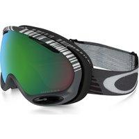 Bekleidung/Brillen: Oakley  A Frame 2.0 SW Snowboardbrille OO7044-07 Gunmetal Prizm Jade