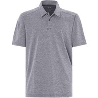 /T-Shirts: Oakley  Aero Ellipse Polo Herren-Poloshirt Fathom Heather