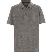 /T-Shirts: Oakley  Aero Ellipse Polo Herren-Poloshirt Athletic Heather Grey