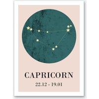 Capricorn Art Print I