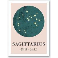 Sagittarius Art Print I
