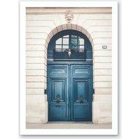 Paris Door Art Print