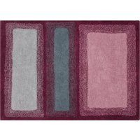 Washable Rug Water Savannah Red