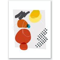 Shape & Hue II Art Print