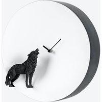 Moon Clock- Wolf