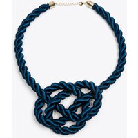 Queen Necklace in Petrol Blue