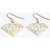 Diamond Earrings in Gold