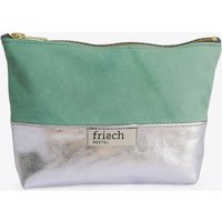 Makeup Bag In Space Mint