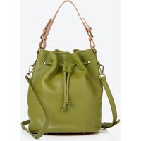 Islington Bucket Bag In Olive