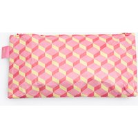 3d Cube Pencil Case In Pink