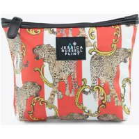 The Striped Leopard Makeup Bag In Gift Box