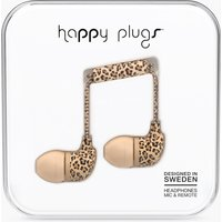 Leopard Print In Ear Earphones With Mic and Remote